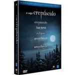 Coleção Completa a Saga Crepúsculo - Edição Limitada (5 Dvds)