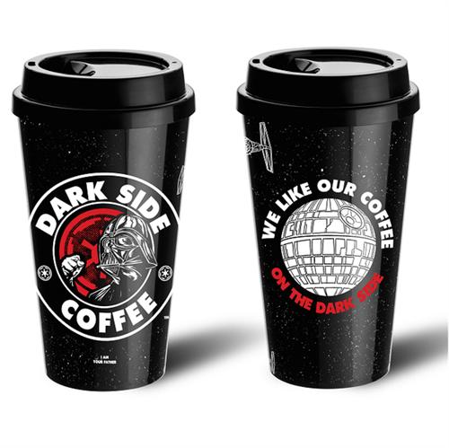 Coleção Copo Dark Side Coffee - Conheça <3 Aparecerá Automaticamente no Seu Carrinho