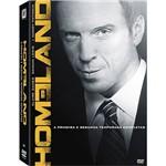 Coleção Dvd Homeland - Segurança Nacional 1ª e 2ª Temporada (8 Discos)
