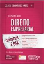 Coleção Elementos do Direito Volume 05 - Direito Empresarial -13ª Edição