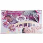 Coleção Nino's Dormindo Bebê Branco C/ Mecanismo - Cotiplás