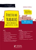 Coleção Tribunais e MPU - Direito do Trabalho - para Analista (2018)