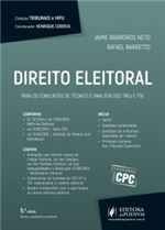 Coleção Tribunais e MPU - Direito Eleitoral - para Técnico e Analista dos TREs e TSE (2017)