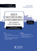 Coleção Tribunais e MPU - Noções de Direito Constitucional e de Direito Administrativo (2018)