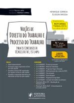 Coleção Tribunais e MPU - Noções de Direito do Trabalho e Processo do Trabalho - para Técnico (2018)