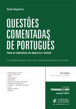 Coleção Tribunais e MPU - Questões Comentadas de Português - para Analista e Técnico - (2015)