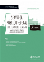 Coleção Tribunais e MPU - Servidor Público Federal: Leis 8.112/90 e 11.416/06 - para Técnico e Analista (2018)