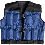 Colete Ajustável Peso Até 10kg Azul/Preto - Proaction