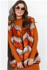 Colete Faux Fur de Pelo Sintético CT0084 - Kam Bess