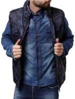 Colete Masculino Azul