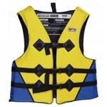 Colete Salva-vidas 80kg Amarelo - Mor