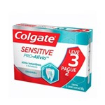 Colgate Sensitive Pro Alivio Creme Dental 3x50g