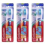 Colgate Tripla Ação Escova Dental C/2 (kit C/03)