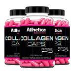 Collagen Caps Ella - 3x 120 Cápsulas - Atlhetica