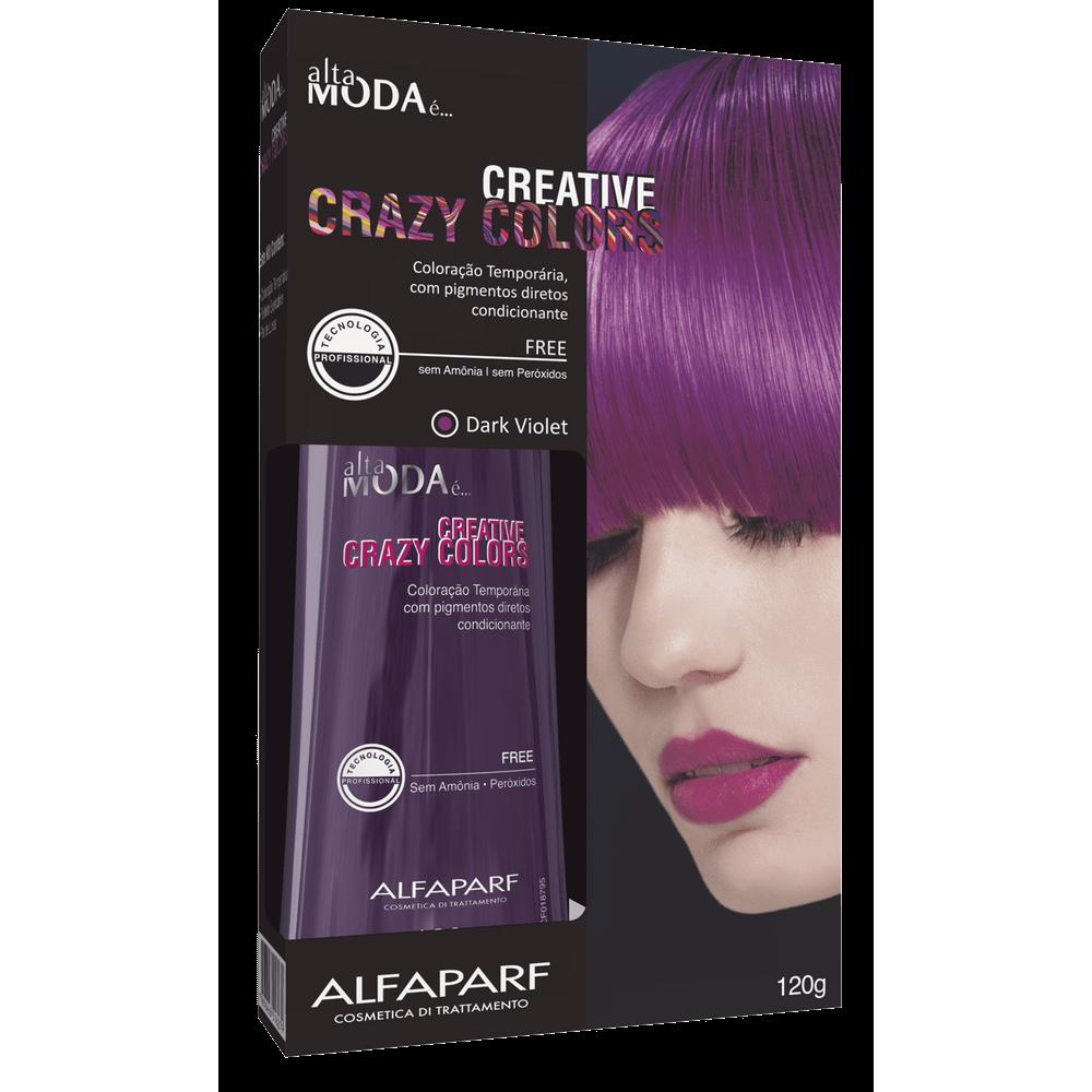 Coloração Altamoda Crazy Color Dark Violet