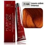 Coloração Forever Colors - Cobre 7-44 Louro Cobre Intenso