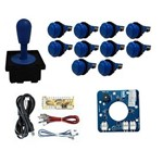 Comando Aegir Magnético 10 Botões Nylon Zero Delay - Azul