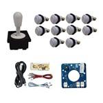 Comando Aegir Magnético 10 Botões Nylon Zero Delay - Branco