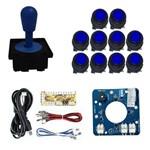 Comando Magnético 10 Botões com Preto Zero Delay- Azul
