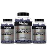 Combão 3 Multivitamínico (100 Tabletes - Cada Frasco) - Atlhetica Nutrition