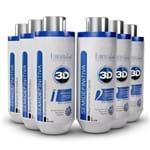 Combo 03 Kits Escova Semidefinitiva Power 3D System Forever Liss
