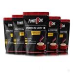 Combo 5x Café Proteico 100g Cada - Power One