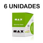 Combo 6x New Up Gel Power - 10 Sachês - Max Titanium