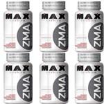 Combo 6x Zma - 90 Cápsulas - Max Titanium Melhora Testosterona