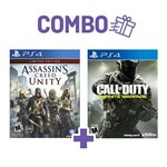 Combo Assassins Creed Unity + Call Of Duty Infinite Warfare - PS4