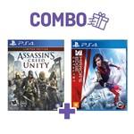 Combo Assassins Creed Unity + Mirrors Edge Catalyst - PS4