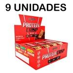 Combo Atacado 9x Protein Crisp Bar 12 Barras - IntegralMédica