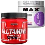 Combo: Bcaa Drink 4:1:1 (280g) - Max Titanium + Glutamina (300g) - Integralmédica