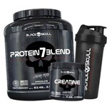 Combo Black Skull Protein7blend 1,8kg + Creatine 150g + Coqu