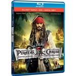 Combo Blu-ray Duplo + DVD + Digital Copy Piratas do Caribe 4 (4 Discos)