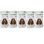 Combo Bravecto Antipulgas e Carrapatos para Cães de 10 - 20kg - 5 Unidades