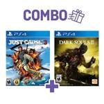 Combo Dark Souls Iii + Just Cause 3 - PS4
