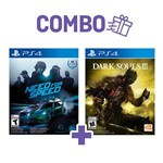 Combo Dark Souls Iii + Need For Speed - PS4