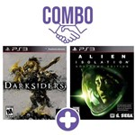 Combo: Darksiders - Ps3 + Alien: Isolation Nostromo Edition - Ps3