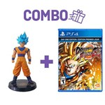 Combo Dragon Ball Fighter Z Day One Edition + Action Figure Goku Blue - PS4
