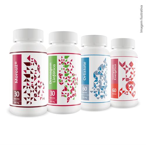 Combo Emagrecedor BS Pharma 4 Frascos