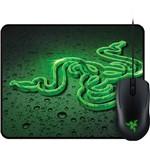 Combo Gamer Abyssus Green 2000 Dpi + Goliathus Small Speed Terra - Razer