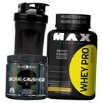 Kit de Suplementos Massa Muscular e Alta Perfomance