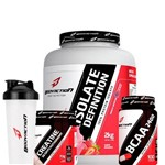 Combo Isolate Definition 2kg + Bcaa 100 Cápsulas + Creatina 70g + Coq.