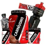 Combo Kit de Suplementos Carnivoro 900g + Bcaa + Creatina Body Action