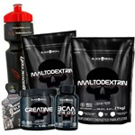 Combo Kit 2x Maltodextrina 1kg + Bcaa + Creatina
