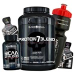 Combo Kit Whey/wey Concentrado Isolado Blend + Bcaa