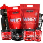 Combo Kit Massa Muscular Completo Integralmedica 2x Whey
