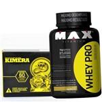 Suplemento para Definir Barriga Ganhar Massa Magra - Whey Pro 1kg + Termogenico Kimera Promoção