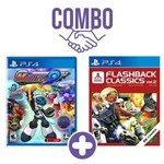 Combo: Mighty No. 9 - Ps4 + Atari Flashback Classics Vol. 2 - Ps4