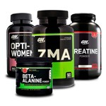 Combo Opti-women 60 + Zma 90 + Creatina + Beta-alanine On